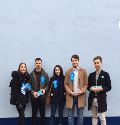 Canvassing with the KCLCA